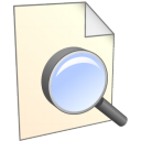 128x128px size png icon of Search File