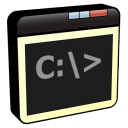128x128px size png icon of Window Command Line
