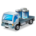 128x128px size png icon of data transport