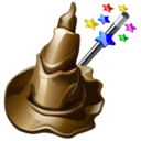 128x128px size png icon of wizard
