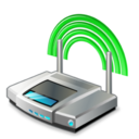 128x128px size png icon of access point