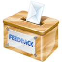 128x128px size png icon of feedback