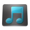 128x128px size png icon of Filetype Music