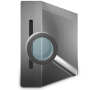 128x128px size png icon of Search Drive