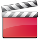 128x128px size png icon of Red Movie