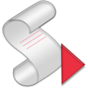 128x128px size png icon of Script