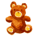 128x128px size png icon of Bear User