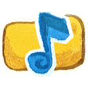 128x128px size png icon of Om Music