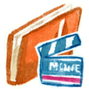 128x128px size png icon of Red Movies