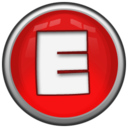128x128px size png icon of Letter E