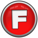 128x128px size png icon of Letter F
