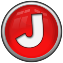 128x128px size png icon of Letter J