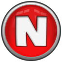 128x128px size png icon of Letter N
