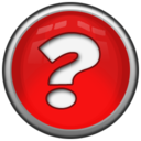 128x128px size png icon of Question mark