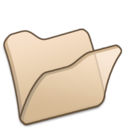 128x128px size png icon of Folder beige