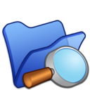 128x128px size png icon of Folder blue explorer