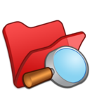 128x128px size png icon of Folder red explorer