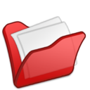 128x128px size png icon of Folder red mydocuments