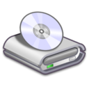 128x128px size png icon of Hardware CD ROM