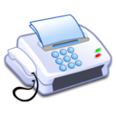 128x128px size png icon of Hardware Fax