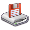 128x128px size png icon of Hardware Floppy Drive