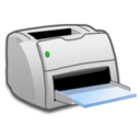 128x128px size png icon of Hardware Laser Printer
