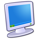 128x128px size png icon of Hardware My Computer 1