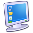 128x128px size png icon of Hardware My Computer 2