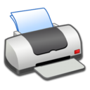128x128px size png icon of Hardware Printer OFF