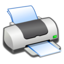 128x128px size png icon of Hardware Printer ON