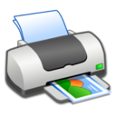128x128px size png icon of Hardware Printer Picture