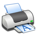 128x128px size png icon of Hardware Printer Portrait