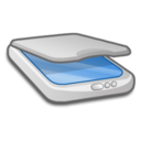 128x128px size png icon of Hardware Scanner 1