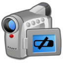 128x128px size png icon of Hardware Video Camera low battery