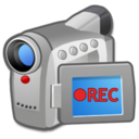 128x128px size png icon of Hardware Video Camera record