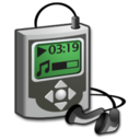 128x128px size png icon of Hardware music player 2
