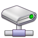 128x128px size png icon of Network Drive
