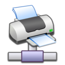 128x128px size png icon of Network Printer