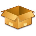 128x128px size png icon of System Box Empty