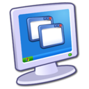 128x128px size png icon of System Display 2