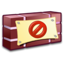 128x128px size png icon of System Firewall 1