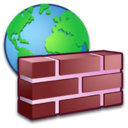 128x128px size png icon of System Firewall 2