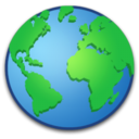 128x128px size png icon of System Globe