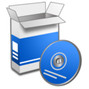 128x128px size png icon of System Install 1