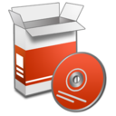 128x128px size png icon of System Install 2