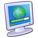 128x128px size png icon of System Internet Download