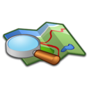 128x128px size png icon of System Map