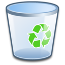 128x128px size png icon of System Recycle Bin Empty