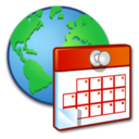 128x128px size png icon of System Regional Settings