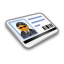 128x128px size png icon of System Security Card